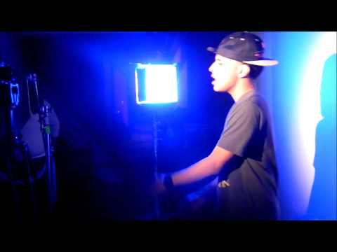 """Kid Evo -""""Never Love Again"""" video shoot (Behind the scences)"""