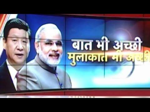PM Modi meets China's President Xi Jinping