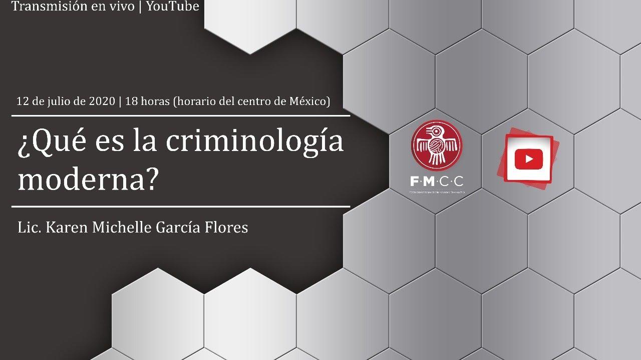 ¿Qué es la criminología moderna?