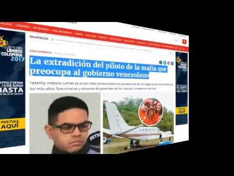 ¡ ULTIMA HORA ! PILOTO DE CILIA FLORES, Y EL CARTEL DE LOS SOLES PRENDE EL VENTILADOR EN LA DEA