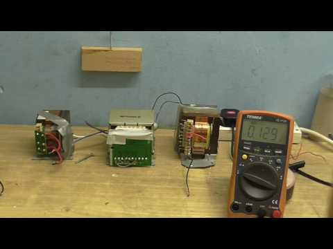 Re-instating my tube amp, phazing a transformer and tests.