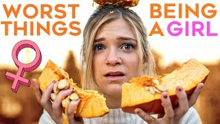 The WORST Things About Being A Girl in FALL