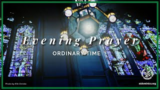 8/3/21 Tuesday - 5:00 pm Evening Prayer