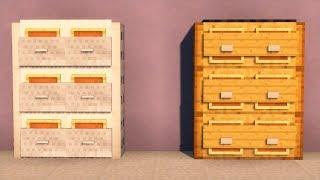 майнкрафт как сделать шкаф