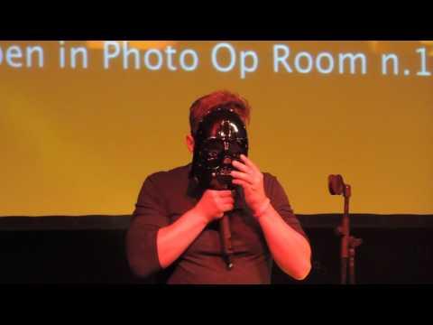JIB7  Travis Aaron Wade playing with Star Wars masks