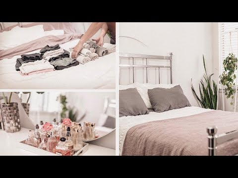 BEDROOM CLEAN with ME - Cleaning Tips to Stay Motivated  | ANN LE