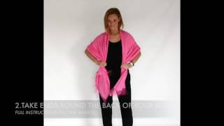THE BOLERO - How to Wear Pashmina