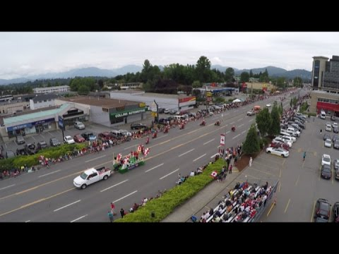 City Of Abbotsford 2016 Canada Day Parade Highlights Youtube