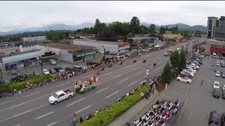 City of Abbotsford 2016 Canada Day Parade Highlights