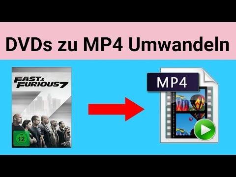 DVDs Zu MP4 Umwandeln