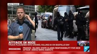 Nice attack: the Islamic state group claims responsibility for deadly Bastille Day truck attack