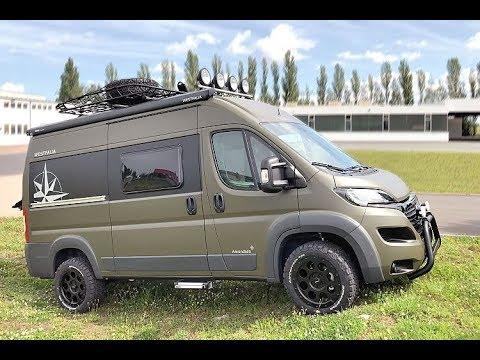 amundsen 540d offroad campervan review youtube. Black Bedroom Furniture Sets. Home Design Ideas