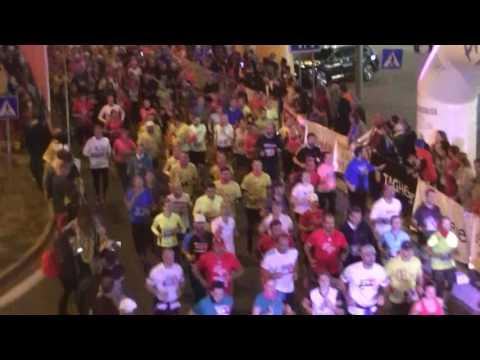 Telekom Night Run 2016 - Start 2 - Eurovea - Bratislava
