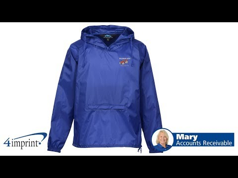 Squall Hooded Anorak Jacket - Promotional Products By 4imprint