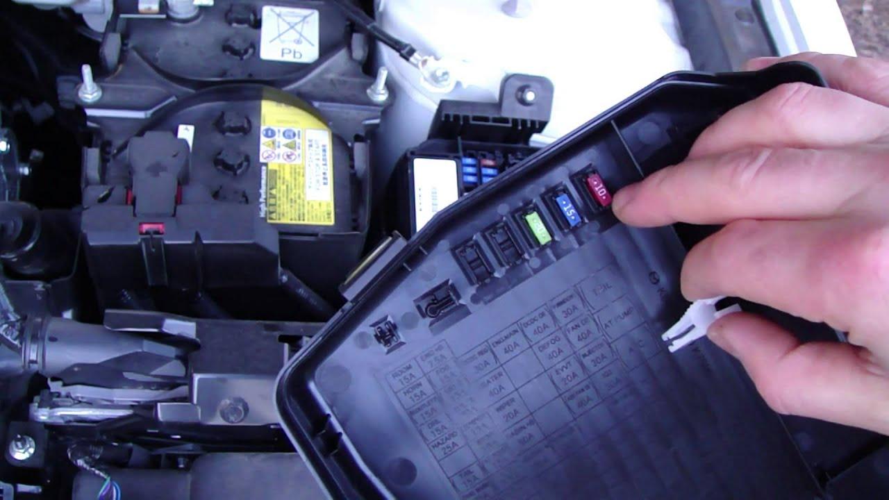 Mazda 2 2009 Fuse Box Diagram Schematics 3 Cover Auto Electrical Wiring