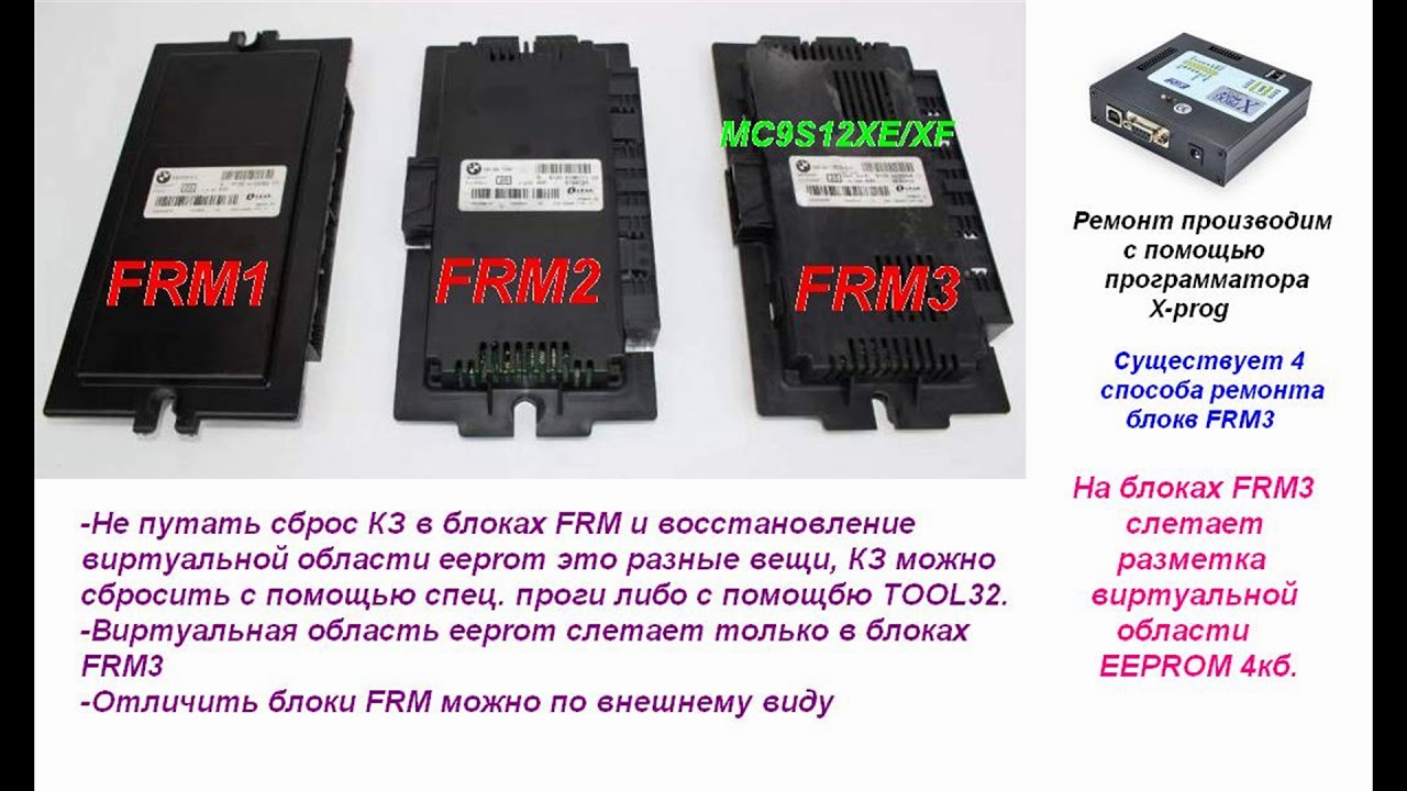 FRM3 repair for 2min by kontakt-bmw