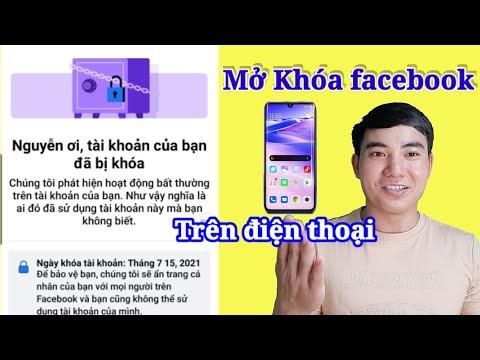 Cách mở khóa facebook khi bị khoá tạm thời   Mở khóa facebook dạng két sắt 956 mới nhất
