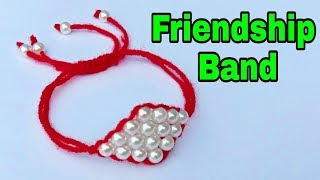 How To Make//Friendship Band//At Home// Useful & Easy