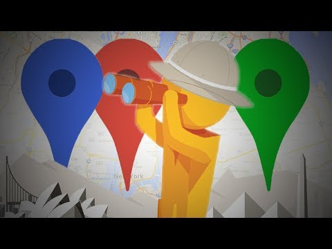 Google Map Trivia!  Smarty Pins Challenge!!