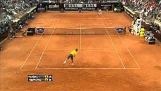 Djokovic vs Nadal Rivalry Clay (Best Points HD)