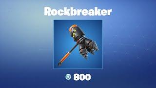 Rockbreaker   Fortnite Pickaxe