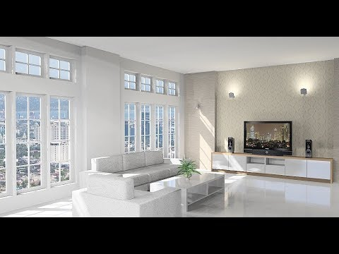 Attractive Make Interior Design Living Room Using Sketchup