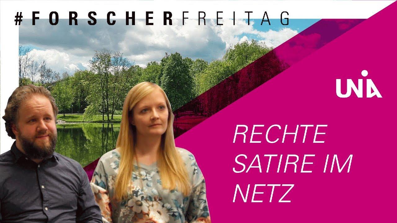 """#forscherfreitag """"Rechte Satire im Netz"""""""