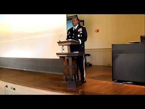 2016 New Horizons Lecture featuring Army Gen. Lloyd J. Austin III