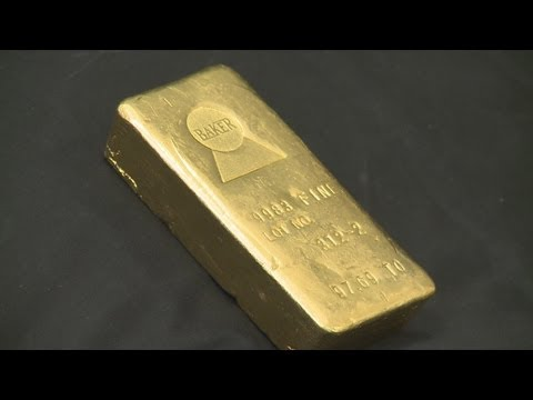 Gold bar pulled from auction block