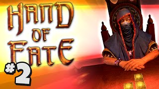 Duncan Plays: Hand Of Fate #2 - LAND LOCKED LUBBER