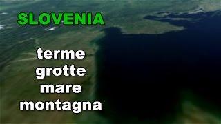 Portorose Slovenia Cartina Geografica.Vacanze Slovenia Mappa Slovenia Cartina E Itinerari