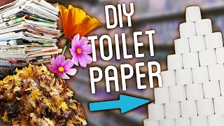 DIY Toilet Paper Using Newspaper, Jeans, Flowers and MORE!