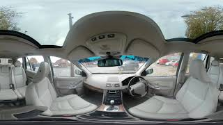 360° All Front Seat View Of Our 2005 Volvo XC90 2 4 D SE 5dr MT55YXU