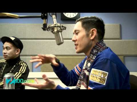 Far East Movement Interview @ Z100 12/04/2012