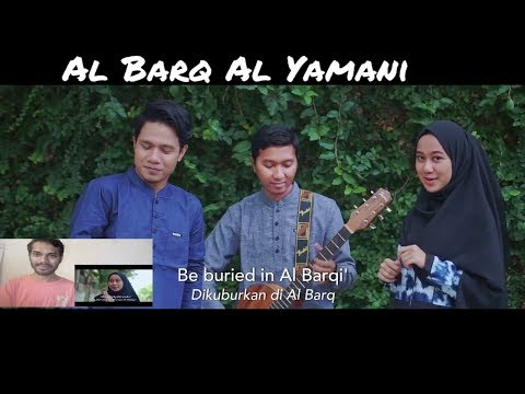 AL BARQ AL YAMANI - SABYAN Ft ADAM ALI (cover By DHEA Ft. RIALDONI) REACTION & REVIEW