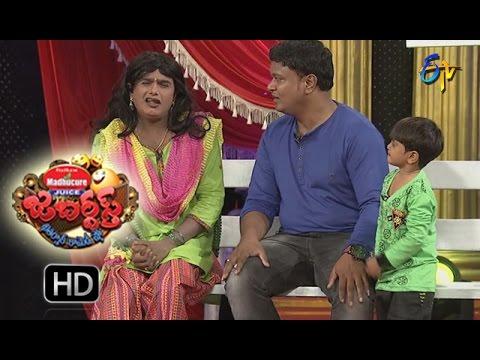 BulletBhaskarSunamiSudhakarPerformance | Jabardsth | 20th  October 2016 | ETV  Telugu