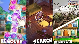 Ghost Town: Mystery Match - Android/iOS Gameplay HD