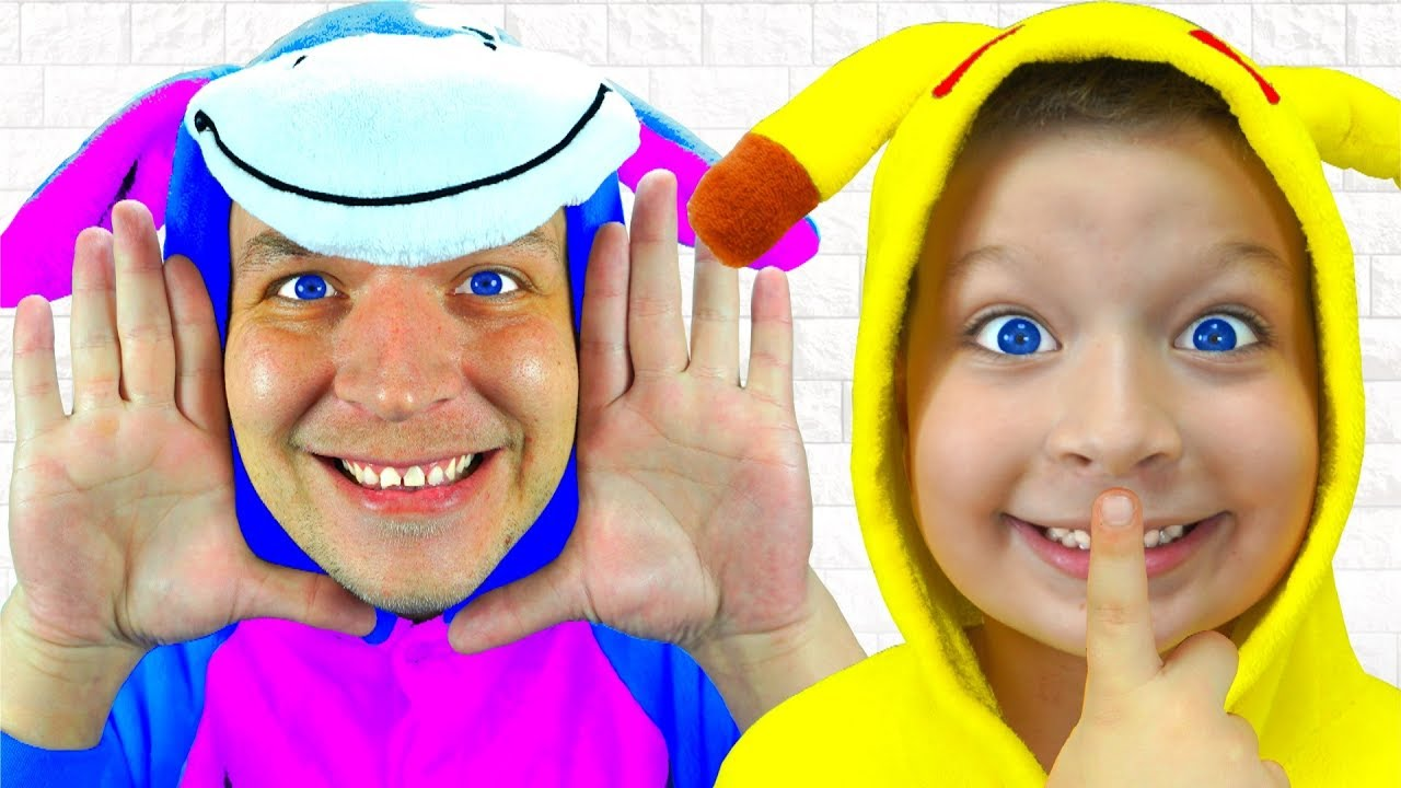 La canción Peek A Boo | Canciones Infantiles Peek A Boo Nursery Rhyme Song