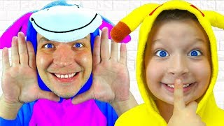 La canción Peek A Boo   Canciones Infantiles Peek A Boo Nursery Rhyme Song