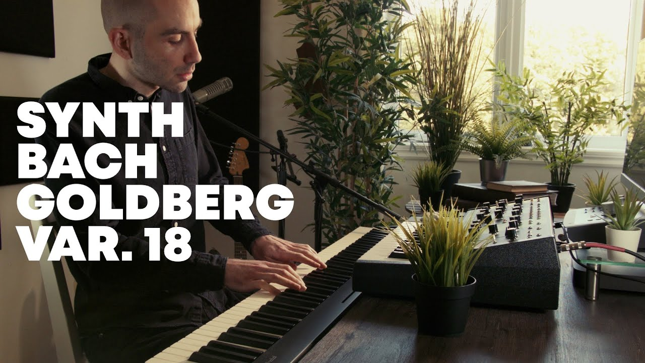 Bach played on a Synthesizer | Goldberg Variation 18