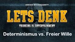 Freier Wille widerlegt? Determinismus einfach erklärt [Hirnforschung]  Let's Explain #6
