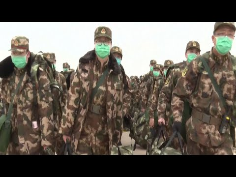 Coronavirus: China sends 4,000 more medical military personnel to Wuhan to battle epidemic