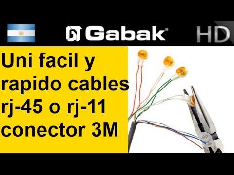 Empalme Union De Cable De Red O Telefon 237 A Usando