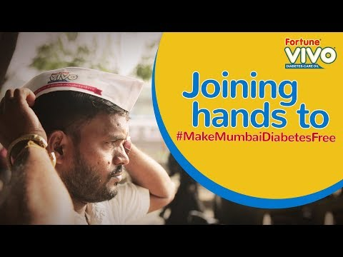 Fortune VIVO Diabetes-Care Oil takes a step to #MakeMumbaiDiabetesFree