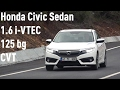 Honda Civic Sedan 1.6 i-VTEC 125 bg CVT Executive ?ncelemesi