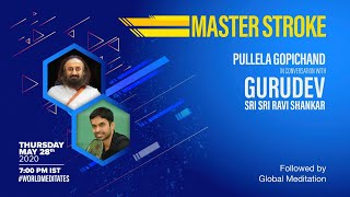 28th May: Live Meditation and Conversation with Gurudev Sri Sri Ravi Shankar | World Meditation