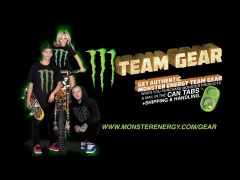 2013 Monster Energy Gear Tab Promo