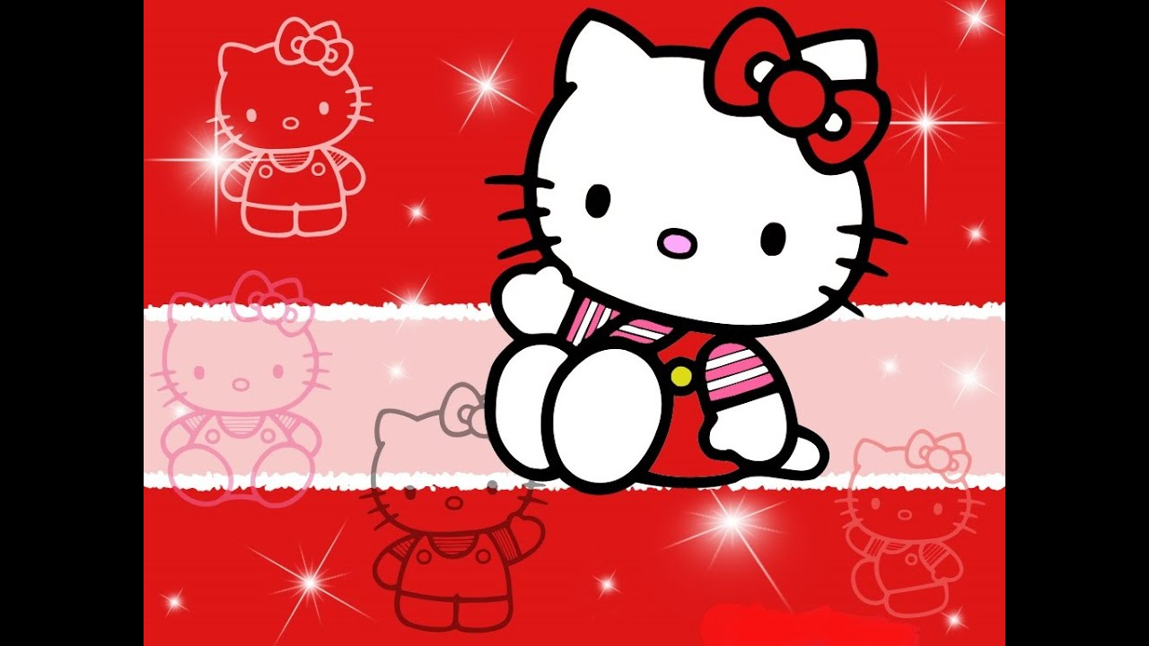 Хэлло Китти Салон модигра для детей Hello Kitty - YouTube