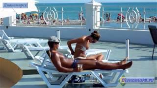 Дивноморск; отдых в Дивноморске и пляжи посёлка(Посёлок Дивноморское, отдых летом 2012 года на видео. Показаны пляжи Дивноморска, пляжные развлечения и курор..., 2012-11-16T06:43:35.000Z)