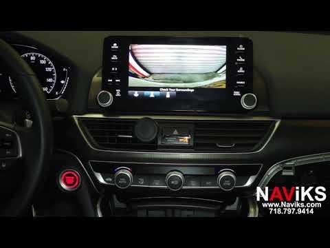2018 Honda Accord (Sport, EX, EX-L, Touring) NAViKS Front Camera Interface